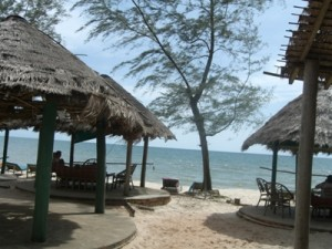 Otres Beach in Sihanoukville