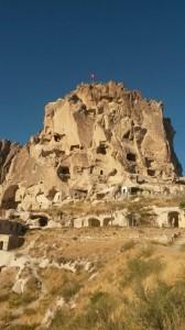 uchisar castle kappadokien