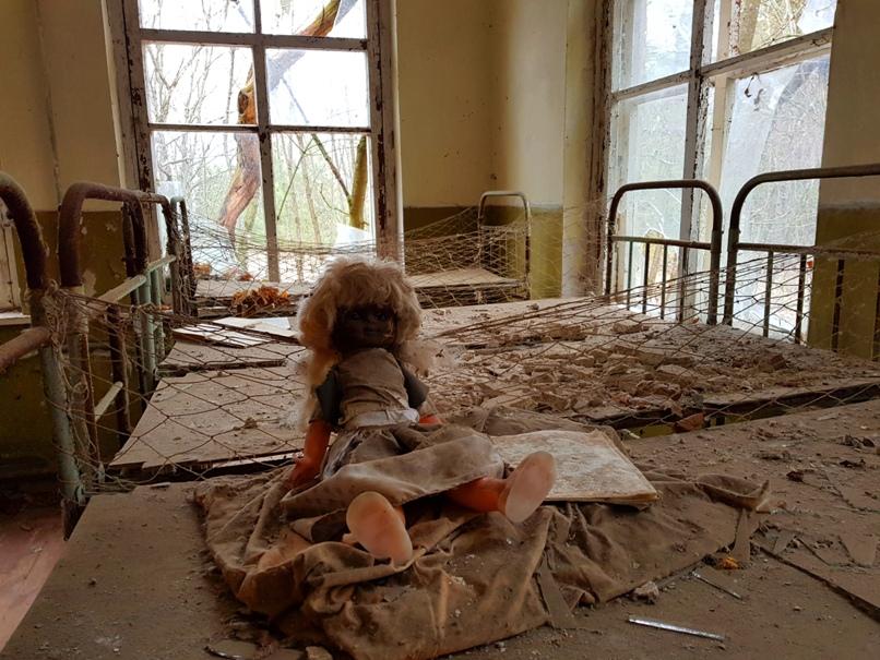Grundschule - Tschernobyl Sperrzone
