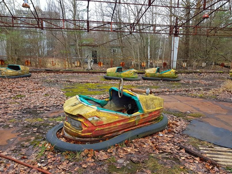 Prypjat Vergnügungspark - Tschernobyl Sperrzone